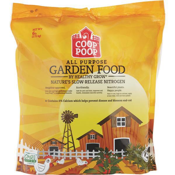 Healthy Grow Coop Poop Organic Dry Plant Food