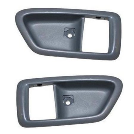 - Parts N Go 1997-2001 Camry Solara ES300 Inner Door Handle Trim Pair Passenger & Driver Side Front or Rear