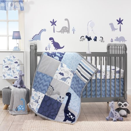 Crib Bedding Bundle Set - Bedtime Originals ROAR Dinosaur 3-Piece Crib Bedding Set