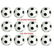 One Dozen 2.5 inches Soccer Stress Balls (12)