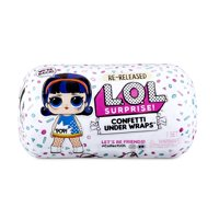 L.O.L. Surprise! Confetti Present Surprise  Re-released Doll with 15 Surprises