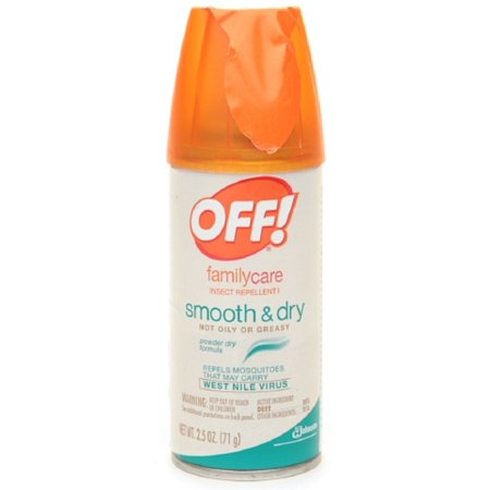 - 2 Pack - OFF! Family Care Smooth & Dry Insect Repellent 2.5 oz