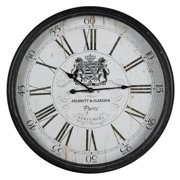 Cooper Classics Wellesley Wall Clock - 31 diam. in.