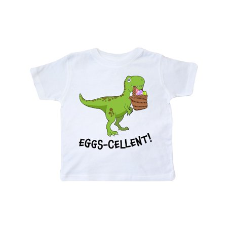 Eggs-cellent! Cute Easter T-Rex Dinosaur Toddler (Dinosaur Eraser)