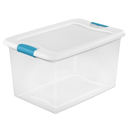 Sterilite 64 Qt Latching Box, White (Case of 6) for $<!---->