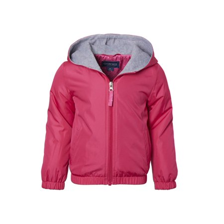 Cherokee Toddler Girl Fleece Lined Windbreaker Jacket ()