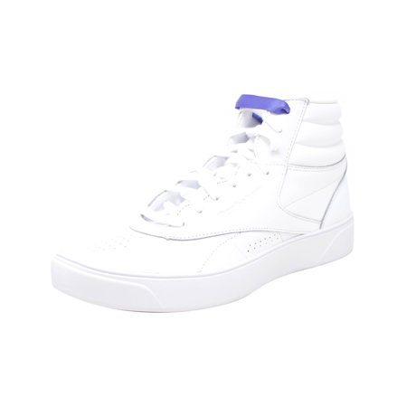 Reebok Women's F/S Hi Nova White / Ultra Purple High-Top Leather Fashion Sneaker - 10.5M - image 2 of 2
