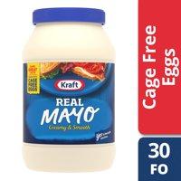 (12 Pack) Kraft Mayo Real, 30 fl oz Jar