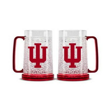 Indiana Hoosiers Crystal Freezer Mug