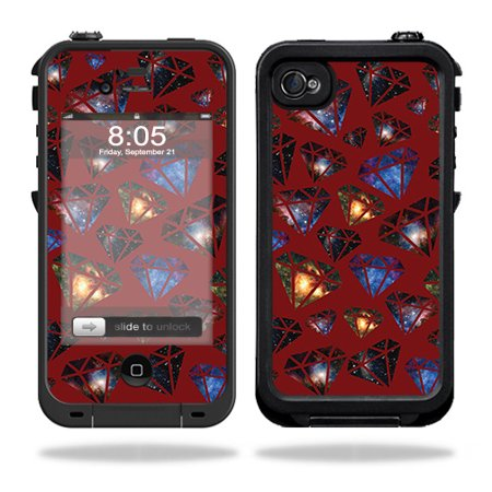 MightySkins Skin Compatible With Lifeproof iPhone 4 / 4S Case – Action Fish Puzzle | Protective, Durable, and Unique Vinyl wrap cover | Easy To Apply, Remove, and Change Styles | Made in the (Discount Code For Lifeproof Iphone 4s Case)