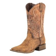 Stetson Western Boots Mens Leather Brown 12-020-8801-0966 BR