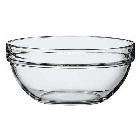Luminarc Glass 7.75 Inch Stackable Round Bowl ()