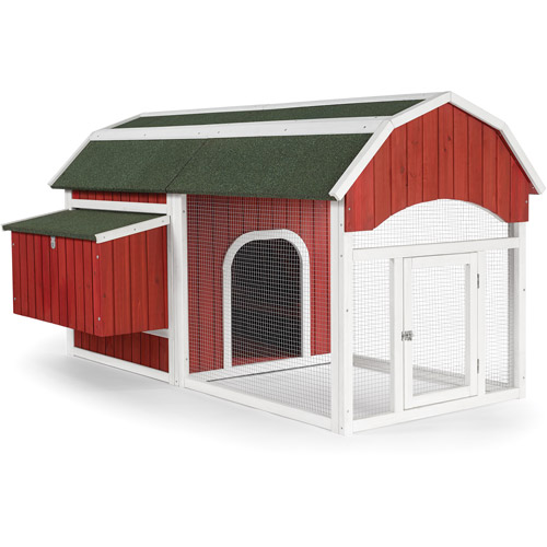 Prevue Pet Products Red Barn Chicken Coop