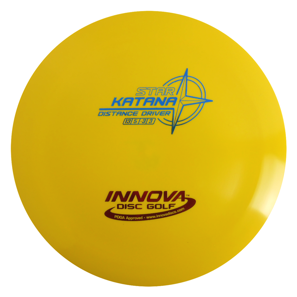 Innova Star Katana 165-169g Distance Driver Golf Disc [Colors may vary] 165-169g by