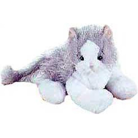Webkinz Gray & White Cat Plush ()