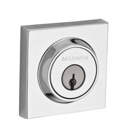 Baldwin Contemporary Single Cylinder Deadbolt with (The Best Deadbolt Lock)