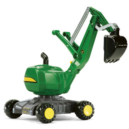 Rolly Toys John Deere 360 Degree Ride On Construction Excavator Shovel Kids Toy