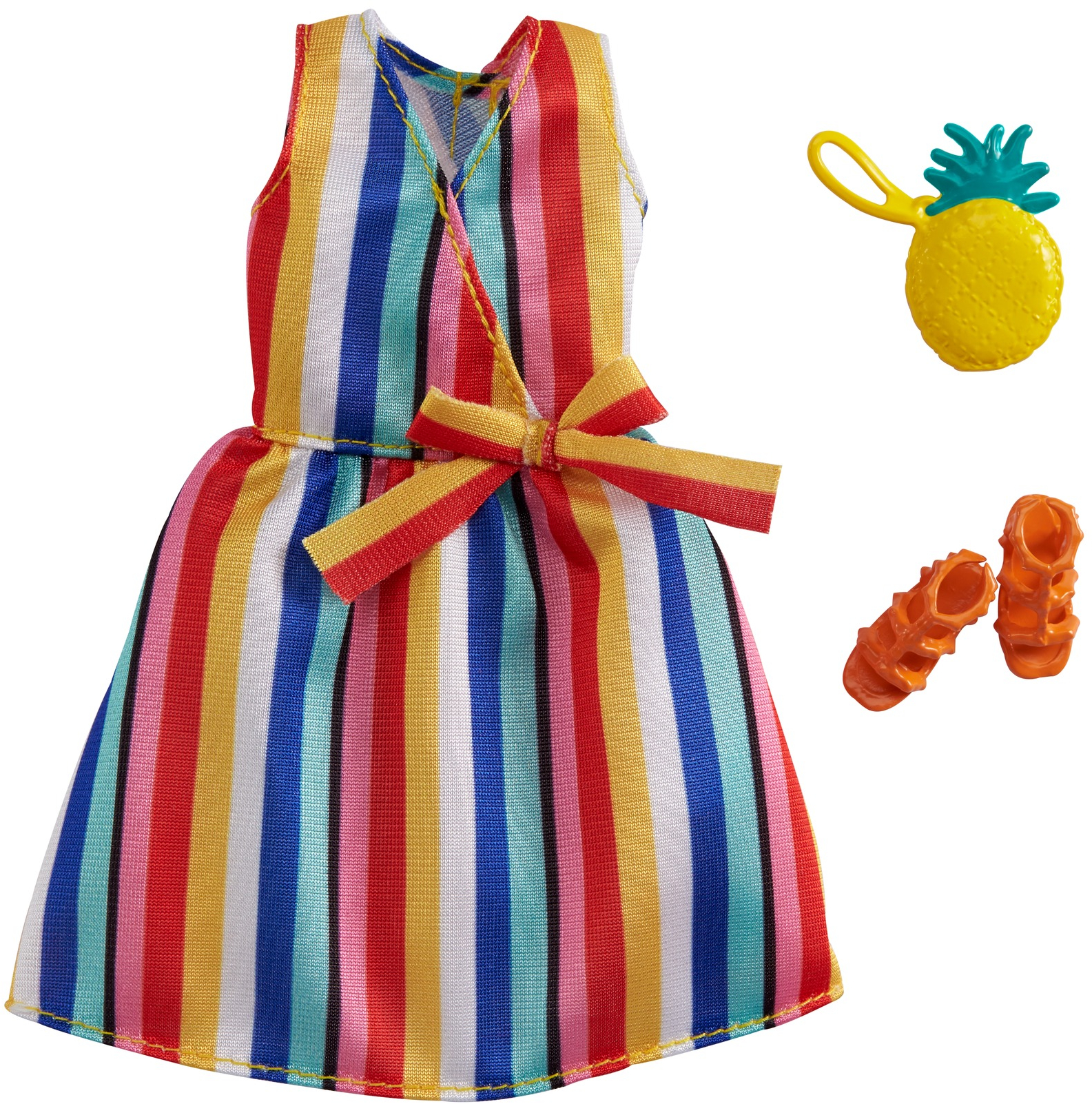 barbie clothes Tube top with maxi skirt doll outfit fashion doll clothes spring outfit set of 2