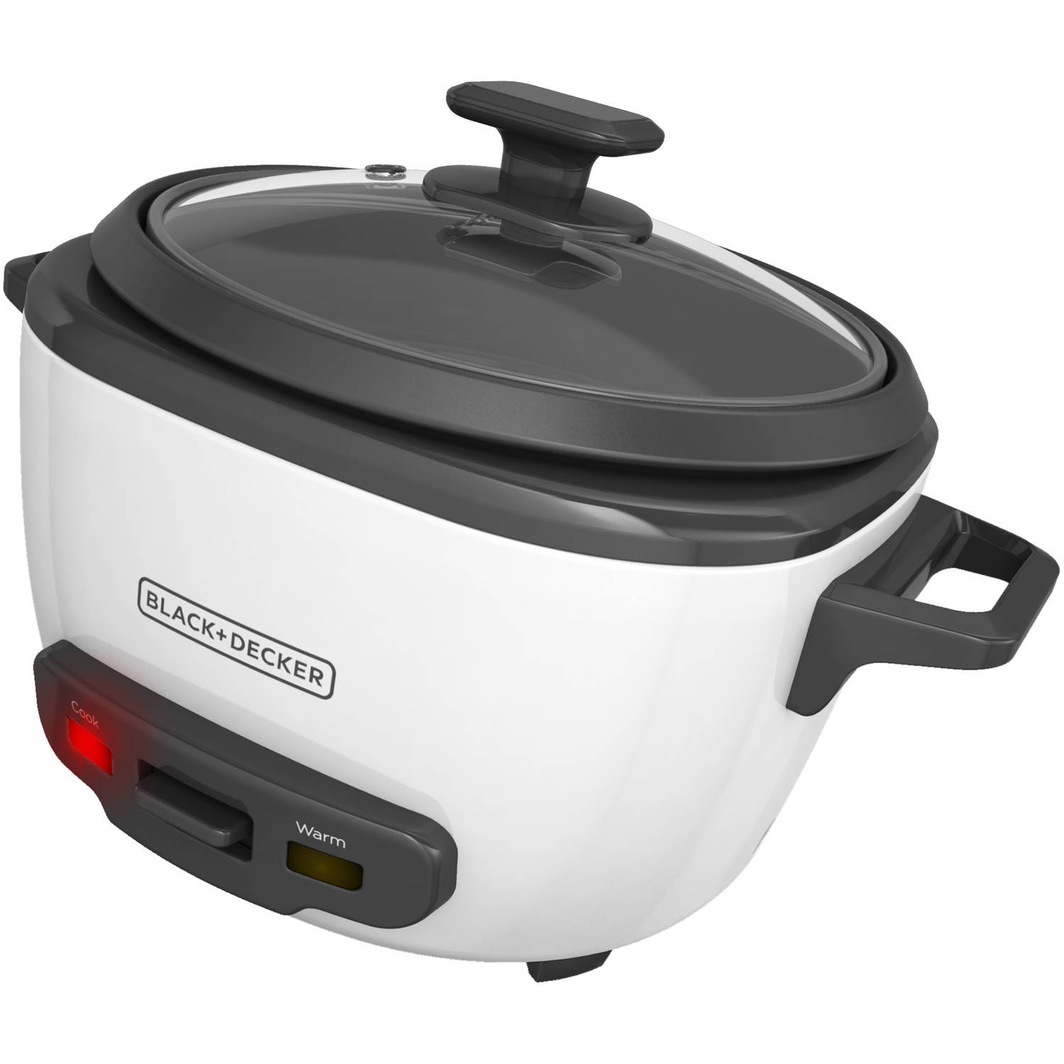 BLACK+DECKER 14-Cup Rice Cooker and Steamer Basket, RC514