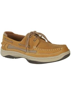 Reel Legends Mens Catamaran Tan Boat Shoes