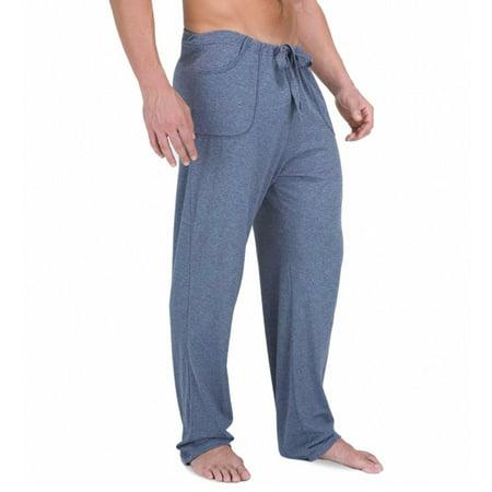 78e49ce07bec Cottonique - Men's Cottonique M17708 Latex Free Organic Cotton Drawstring  Lounge Pant - Walmart.com