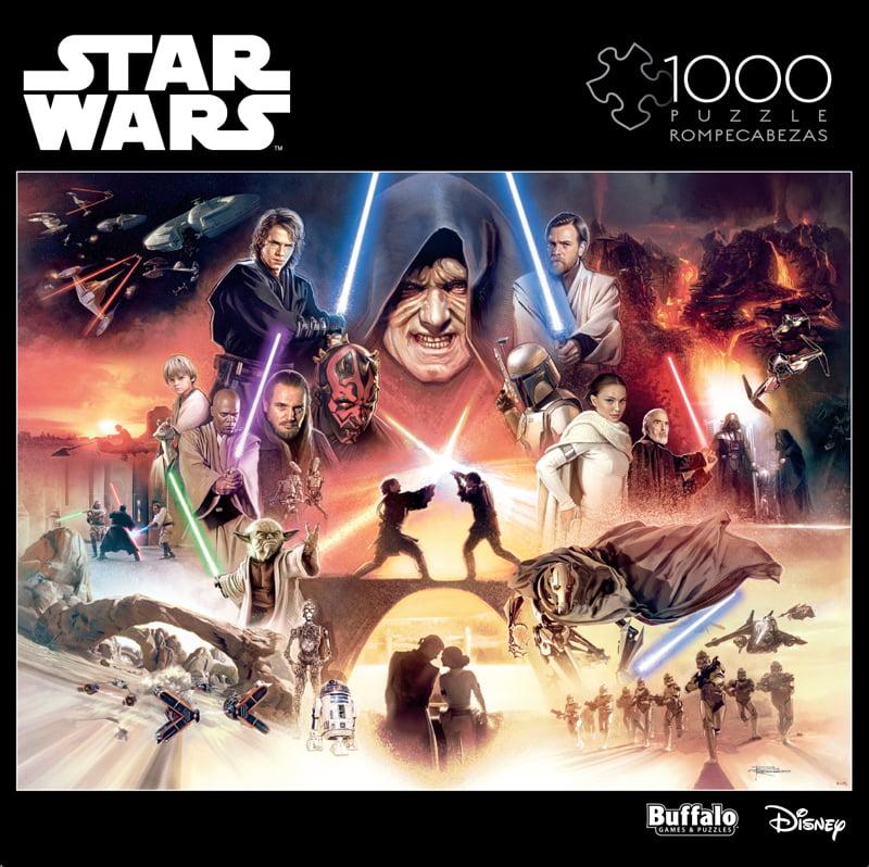 Buffalo Games Star Wars Item 11817 I Sense Great Fear In You Skywalker 1000 Piece Jigsaw Puzzle Walmart Com Walmart Com