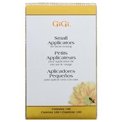 GiGi Honee Wax Small Applicators 100-Count (Pack of 6)