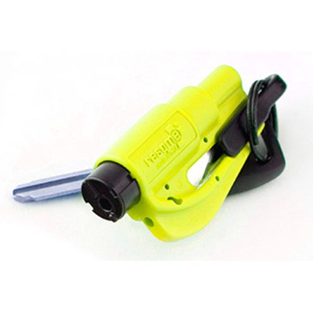 Resqme   Quick Car Escape Tool  Seatbelt Cutter   Window Breaker   Neon
