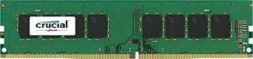Crucial 32gb Ddr4 Sdram Memory Module - 32 Gb [4 X 8 Gb] - Ddr4 Sdram - 2133 Mhz Ddr4-2133/pc4-17000 - 1.20 V - Non-ecc - Unbuffered - 288-pin - Dimm (ct4k8g4dfd8213)