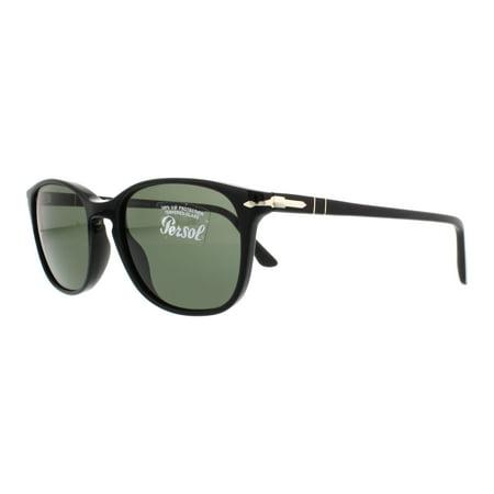 PERSOL Sunglasses PO3133S 901431 Black 52MM (Persol Transparent Sunglasses)