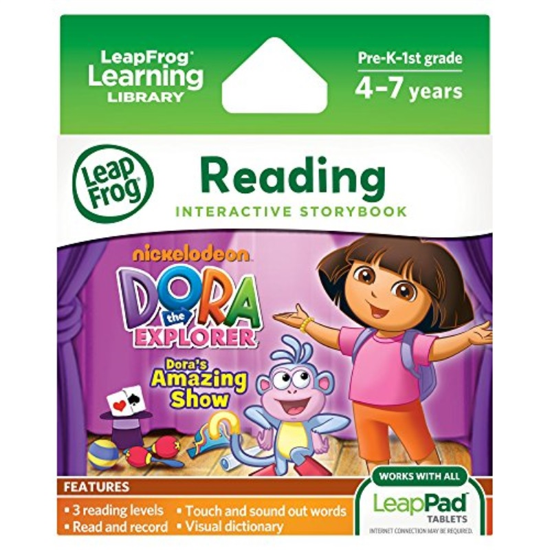 LeapFrog LeapPad Dora's Amazing Show Ultra eBook (works with all LeapPad tablets) by