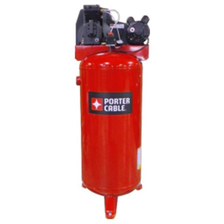 Porter Cable Pxcmlc3706056 3 7 Hp Single Stage 60 Gallon Oil Lube Stationary Vertical Air Compressor