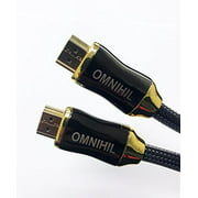 OMNIHIL Replacement (50FT)HDMI Cable for Elgato Game Capture HD-(10025010)