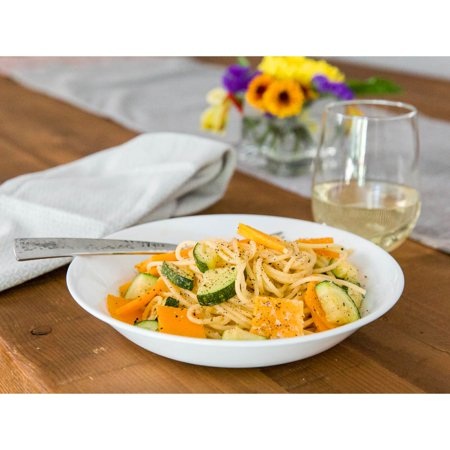 Corelle Livingware Winter Frost White 20-oz Pasta Bowls, Set of 6 ()