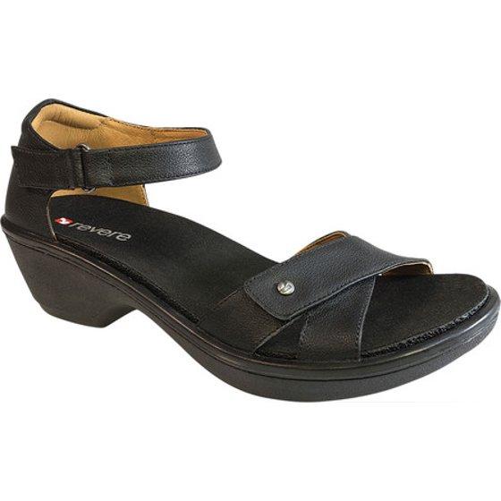 Revere Comfort Shoes Dallas Ankle Strap Sandal (Women's) yTrYLbe