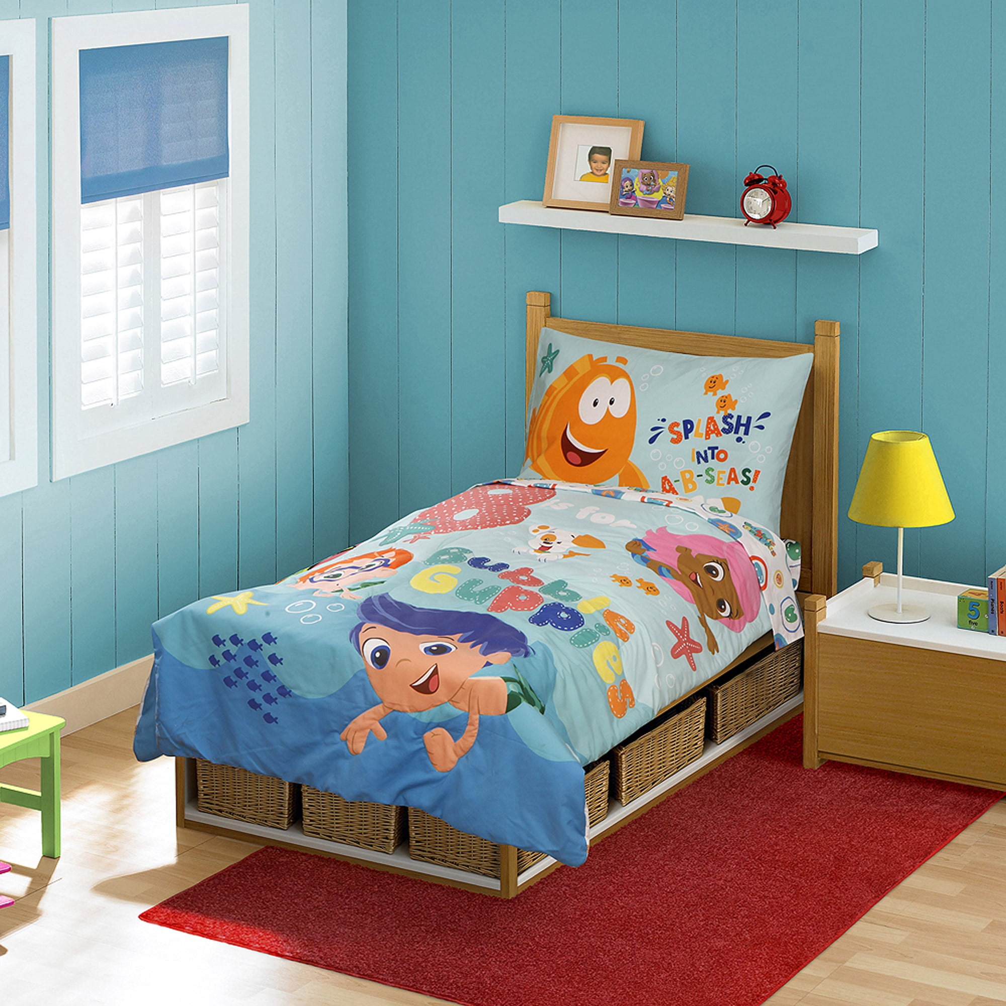 Bedroom Set  3D Bubble Guppies  2017. Bubble Guppies Toddler Bed Set   My Blog