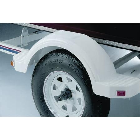 Fulton 008564 Plastic Fender  14 In  Tire  Silver