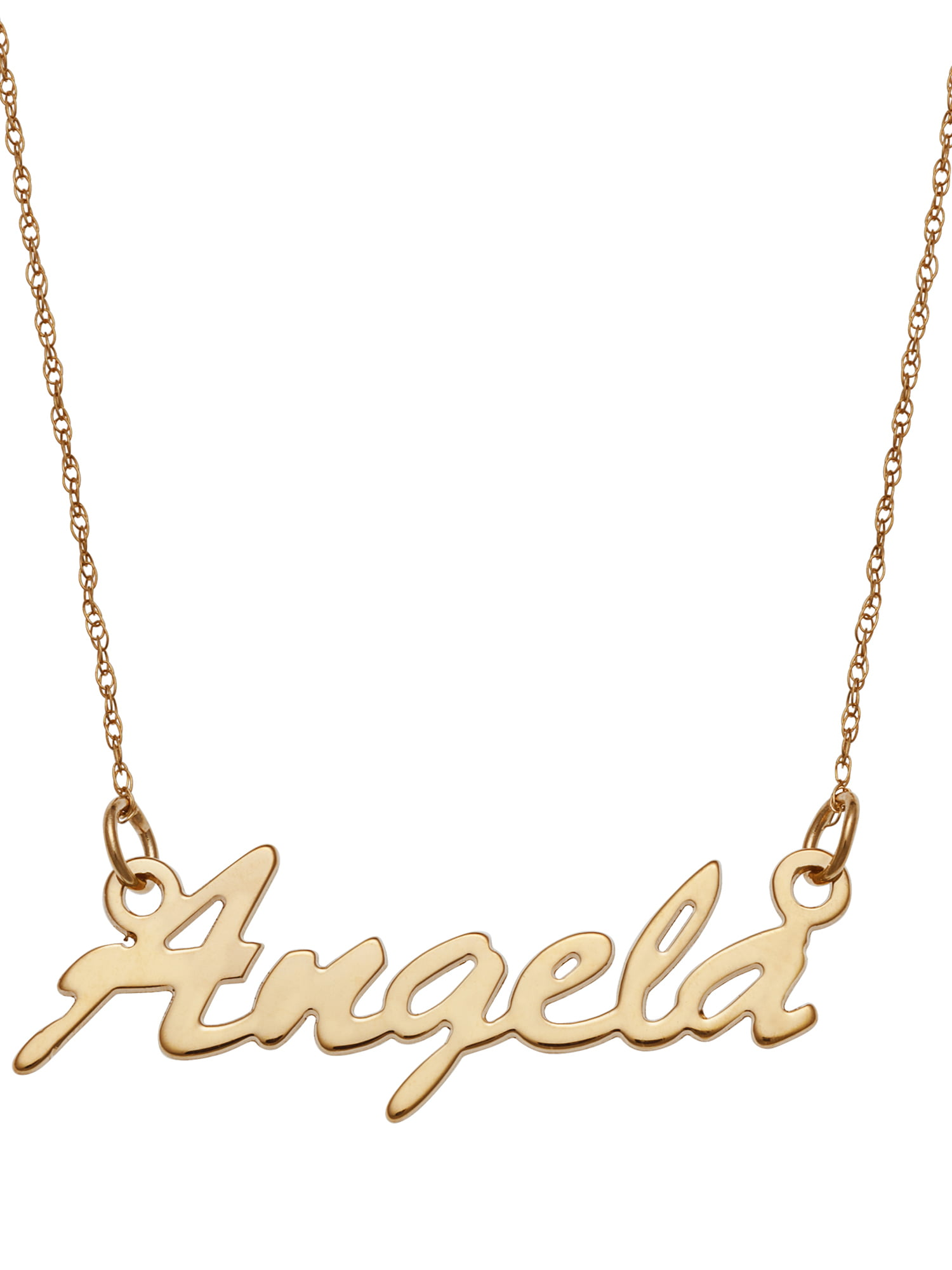 necklaces chains solid categories baby name personalized the gold necklace infinity