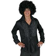 Black Saturday Night Shirt Adult Halloween Costume