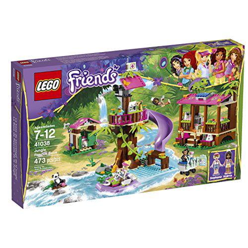 LEGO Friends Jungle Rescue Base (41038) - Walmart.com