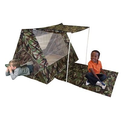 Kidu0027s Adventure Camo Fort Play Tent Set toy gift idea birthday Discover faraway places and  sc 1 st  Walmart & Kidu0027s Adventure Camo Fort Play Tent Set toy gift idea birthday ...