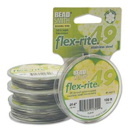 49 Strand Flex Rite Beading Stringing Wire .014