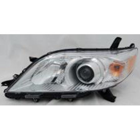 Go-Parts » 2011 - 2015 Toyota Sienna Van Front Headlight Headlamp Assembly Front Housing / Lens / Cover - Left (Driver) 81150-08031 TO2502199 Replacement For Toyota Sienna