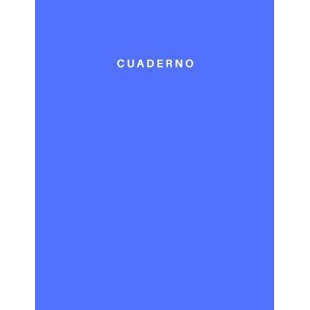 Cuaderno : Lined and Numbered 120 Pages with Grey Lines Letter Size 8.5 X 11 - A4 Size (Journal, Notes, Notebook, Diary, Composition Book) Soft Cover (Classic Diary A4 Size)