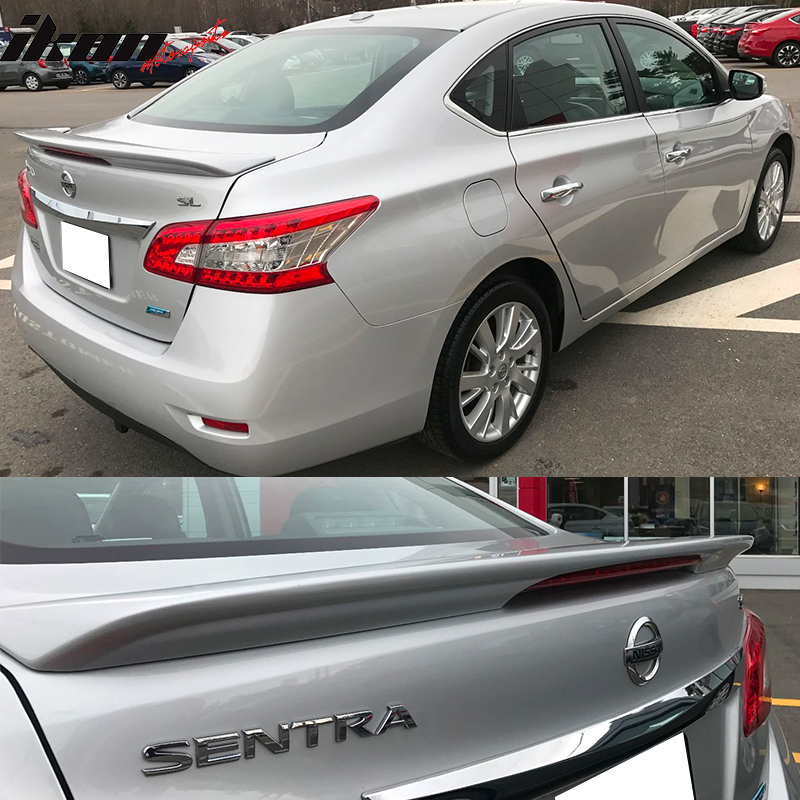 Rear Factory Style Spoilers Boot Lip Wing Spoiler for 13-19 Nissan Sentra A