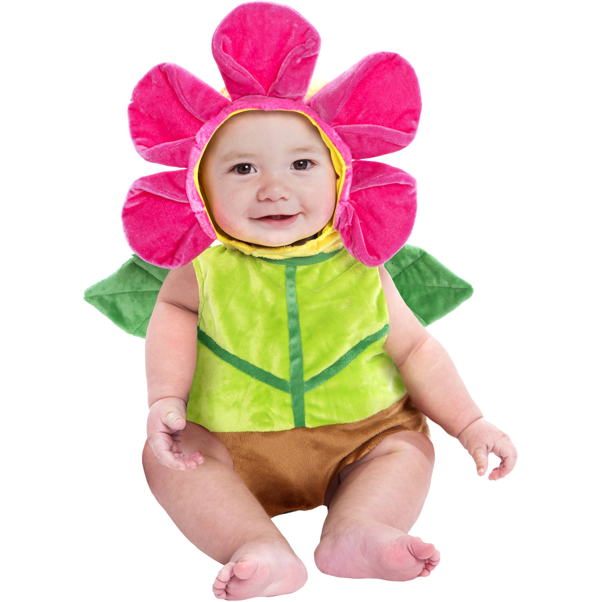 flower pot bubble infant halloween dress up role play costume walmart com - Walmart Halloween Costumes For Baby