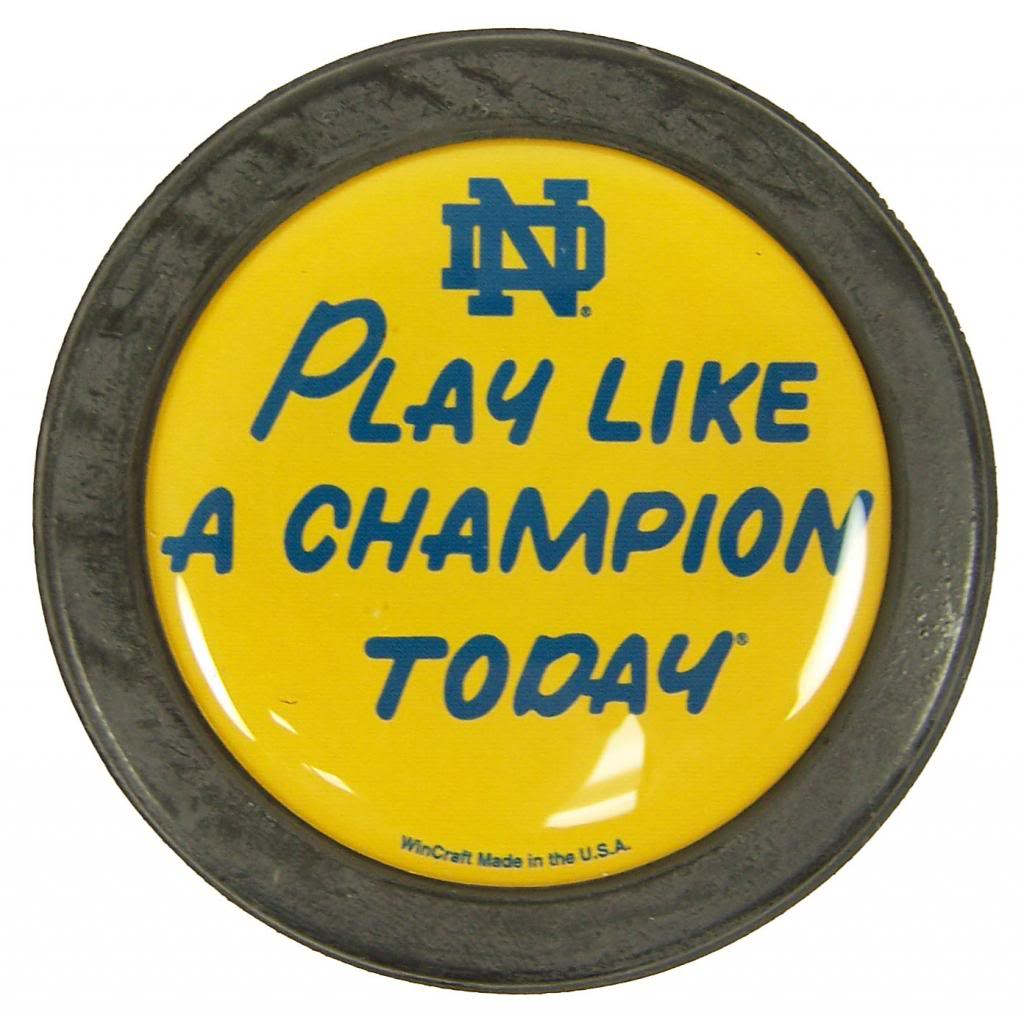 Notre Dame Fighting Irish Official NCAA Official Size Hockey Puck by Wincraft