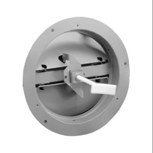 AMERICAN METAL PRODUCTS 8-Inch Brown Round Ceiling Damper