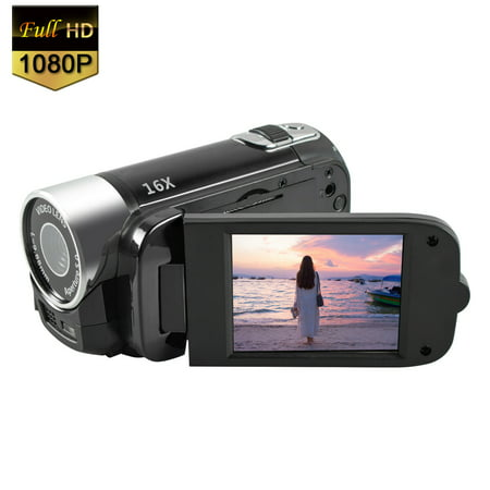 Mignova 1080P HD Camcorder Digital Video Camera 16x Zoom Digital Video Camera Recorder(Black)