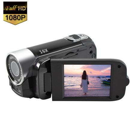 Mignova 1080P HD Camcorder Digital Video Camera 16x Zoom Digital Video Camera Recorder(Black)